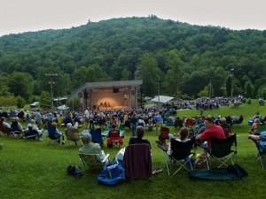 blue ridge music center concert